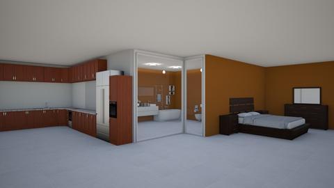 Departamento tipo estudio - Modern - Living room - by kellynazha