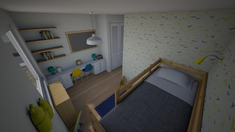Family Flat Boys Room - Modern - by everybodyfeel