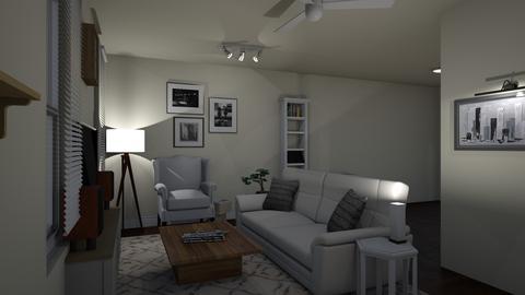 Allen - Living room - by lentoco