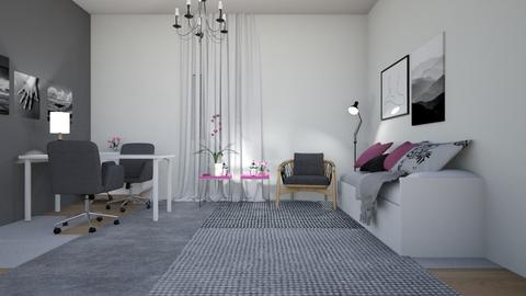 593 1 - Living room - by Riki Bahar Elbaz