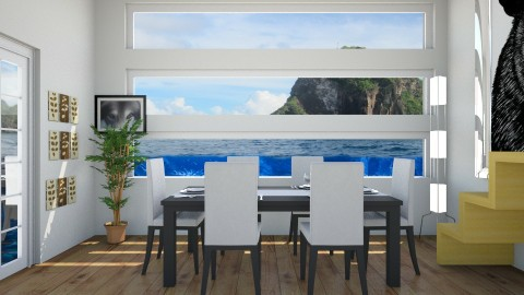 Dining under water - Dining room - by Taxi girl