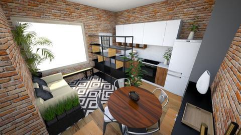 Sala esq 2 claro - Living room - by picroger