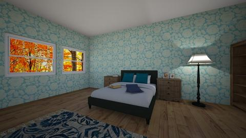 mums room - Bedroom - by zuziapawlowska