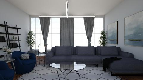 blue - Living room - by ccassidyyevvanns