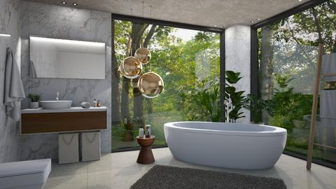 Jungle - Bathroom - by JennieT8623
