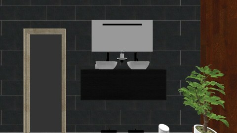 Design 1 - Bathroom - by kwezzie