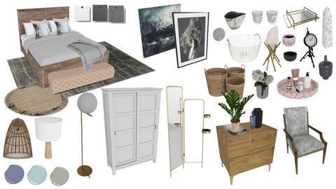 bedroom - by sazdesign