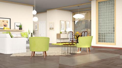 Paraiso Square - Living room - by pachecosilv