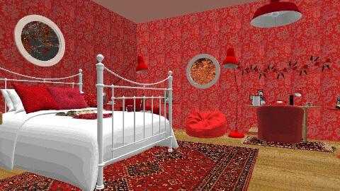 Mals floorplan attic - by hibob