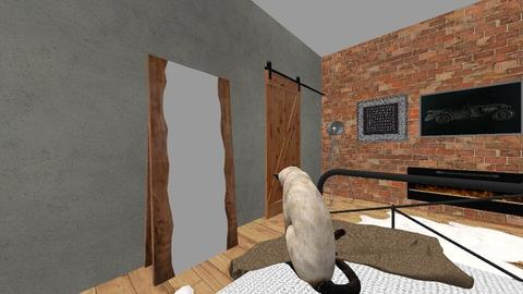 sypialnia inspiracja indr - Bedroom - by deleted_1573906505_kxw