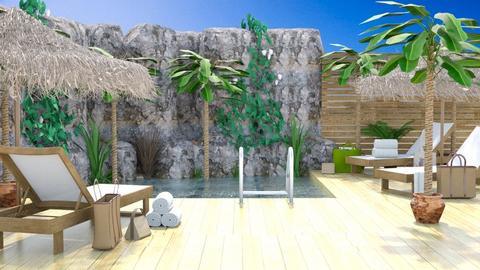 Hawaii Pool - Global - Garden - by millerfam