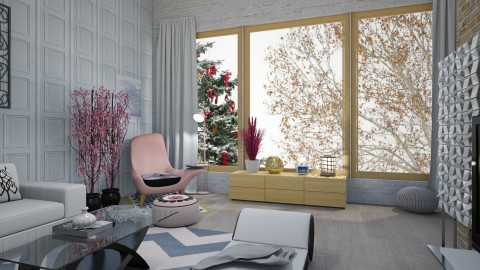 winter day - Classic - Living room - by Tara T