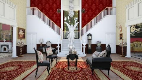 Victorian Hall - Glamour - by DeborahArmelin