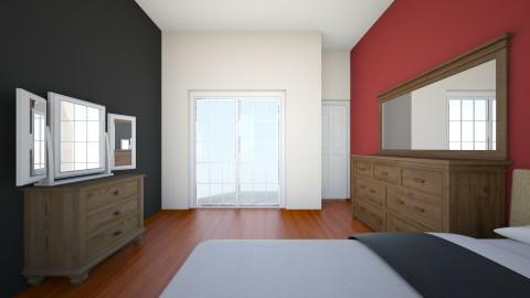 Connors room - Retro - Bedroom - by randomactsofterrible