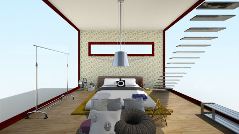 modern - Modern - Bedroom - by LAS95
