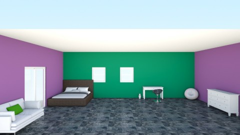 My Bedroom - Country - Bedroom - by karaha9