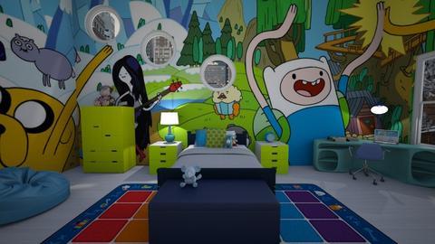 Adventure time - Kids room - by zsjv1989gmailcom