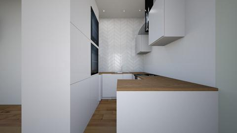 my - Modern - Kitchen - by annsal