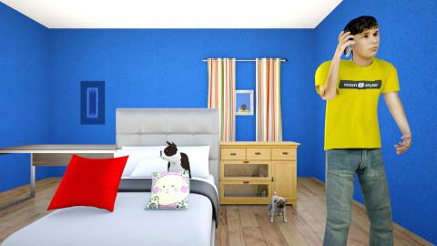 1 Roomstyler - Bedroom - by samireastaviation