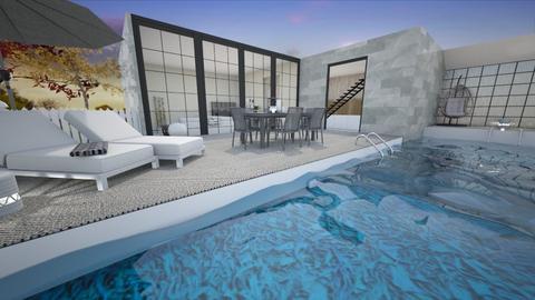 Pool terrace - Garden - by KimAlys