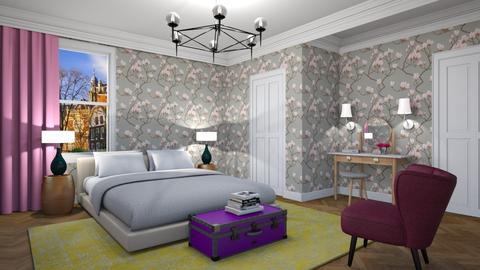 Girly Just Enough - Feminine - Bedroom - by 3rdfloor