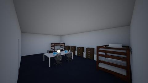 The Jimenez Kids - Bedroom - by Rsvo64