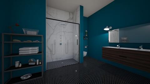 Apartment 0556 Bathroom - Modern - Bathroom - by Puppies44