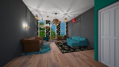 Template room - Living room - by twrose160