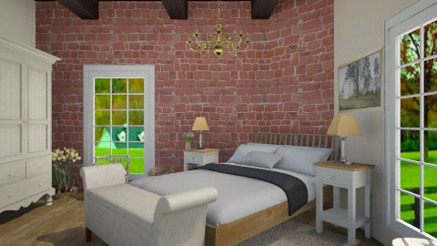 little old farm house 1  - Country - Bedroom - by Jade w