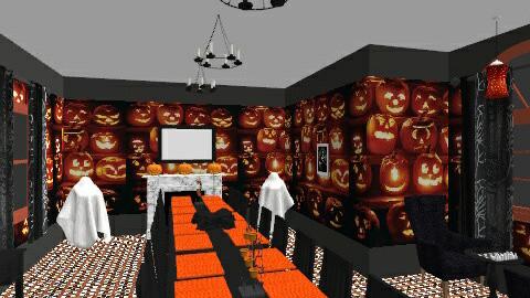 Pumpkin Inspired Room - Dining room - by Tonikqua Broadus