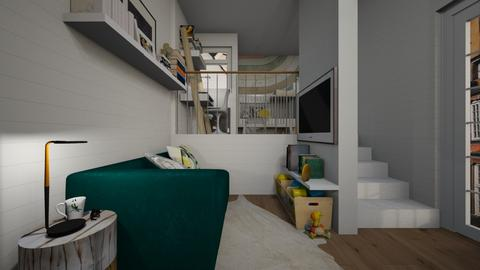 Casa220LivingArea - Modern - Living room - by nickynunes