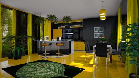 Urban jungle kitchen - by ilcsi1860