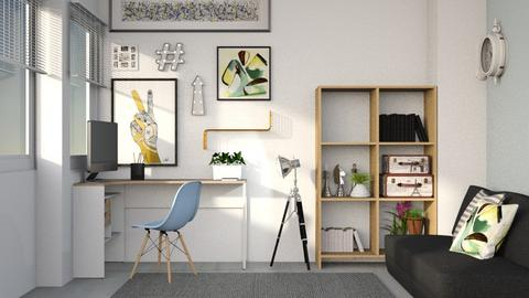 Study Chic - Modern - Office - by Gurns