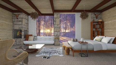 Inverno - Bedroom - by Mayara Pedreira