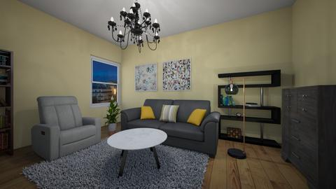 cozy and comfy - Living room - by sonakshirawat175