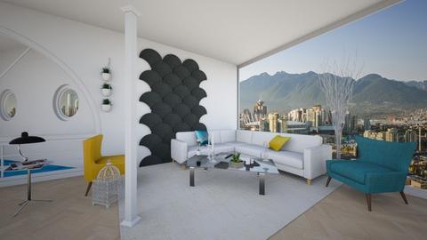 Columns Living Room - Minimal - Living room - by yaizalloriginal
