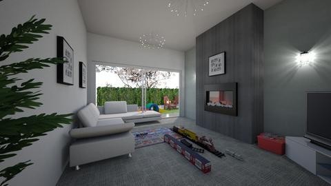 living room - by leendave