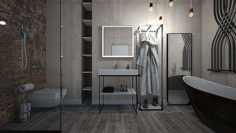 loft bathroom2 - Modern - Bathroom - by Skyler01