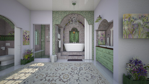 Traditional in Lilac - Classic - Bathroom - by starsector