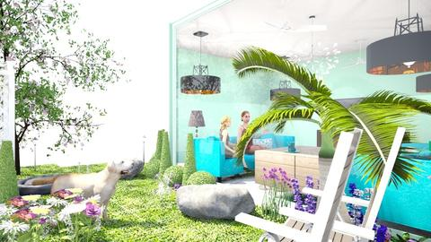 Living room in the meadow - Garden - by hala011