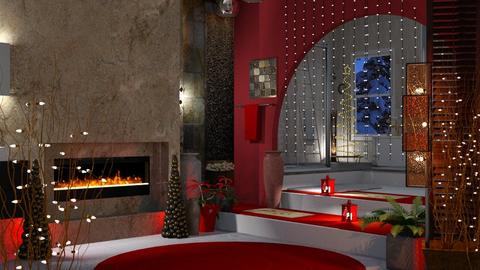 Christmas bathroom - Bathroom - by Sue Bonstra