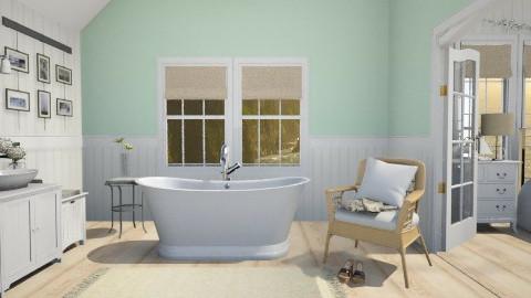 Coastal Bath - Bathroom - by MilaMao