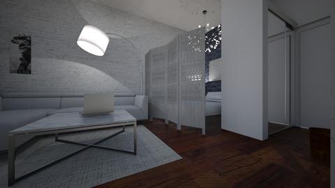 MONOLOCALE1 - Living room - by ELVI