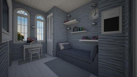modern playful - Bedroom - by daydreamer84