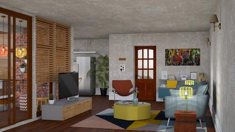 S_Small City Apartment II - Living room - by Shajia
