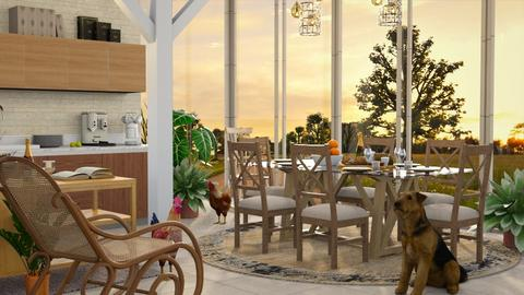 Farm Style - Dining room - by millerfam