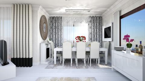 dinning room - Modern - Dining room - by Vasile Bianca Rozalia