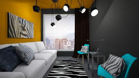minimalistic glam - Glamour - Living room - by JarvisMe