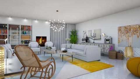 salon - Living room - by racha662