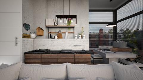 Redecored_Inspiration by nickynunes - Kitchen - by XXXDECORATION